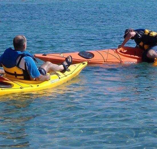 Curso de kayak de travesía