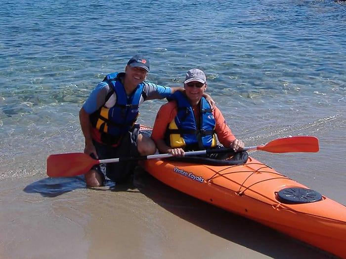 Curso de kayak de aguas tranquilas
