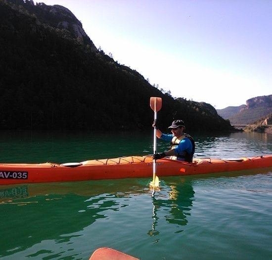 Curso de kayak individual