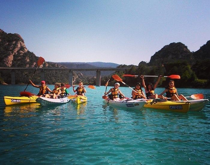 Cursos de kayak en Lérida