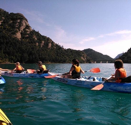 Excursiones en Kayaks para escolares