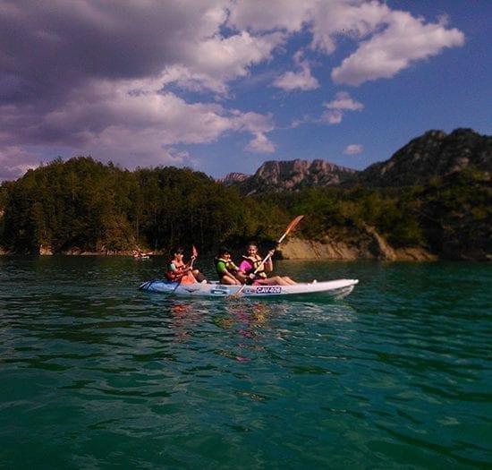 Aventura para escolares en Kayak
