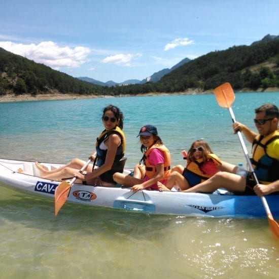 Aventura en Kayak familiar