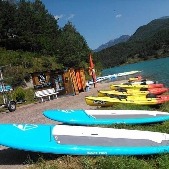 Alquiler de Paddle Surf y Kayaks