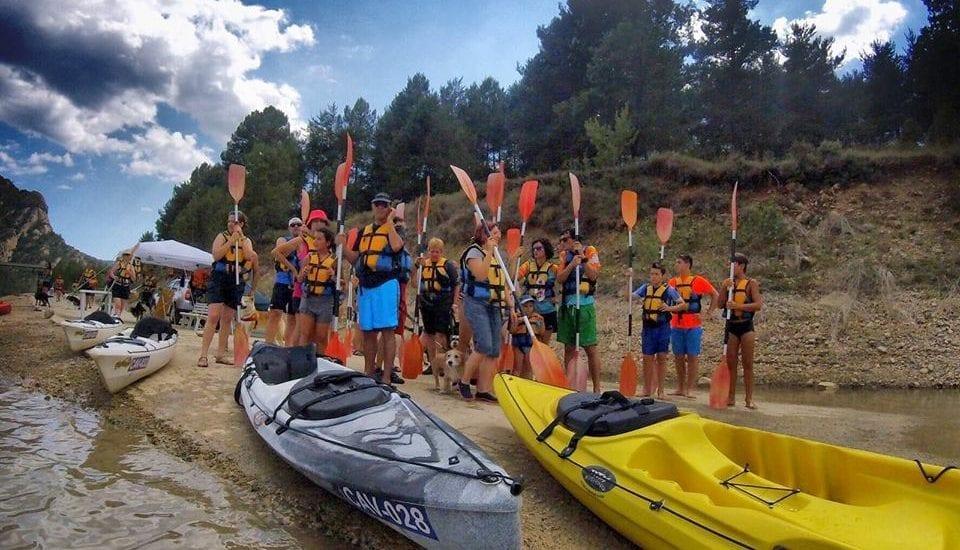 Alquiler de kayaks para grupos