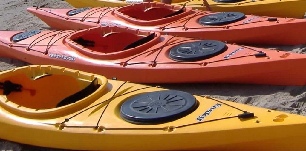Alquiler Kayaks individuales en La Llosa del Cavall