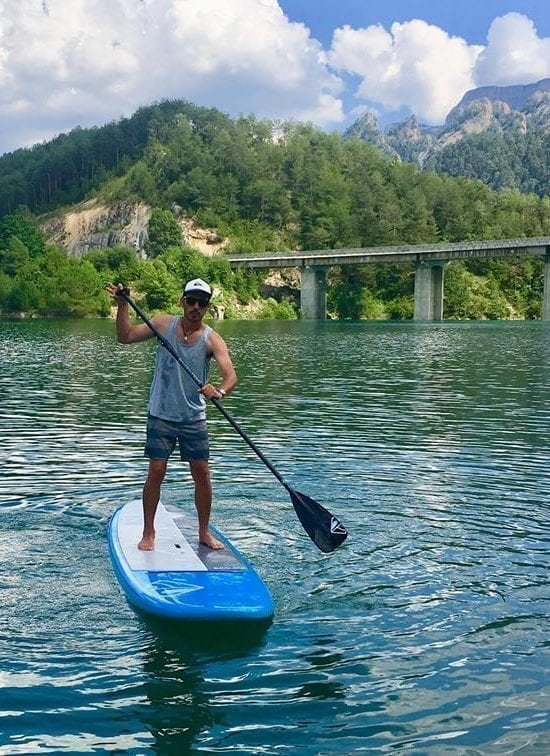 Alquiler de Paddle Surf en la Llosa del Cavall