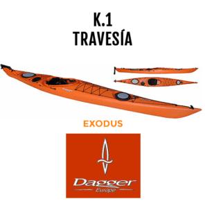 Kayak de travesía Exodus