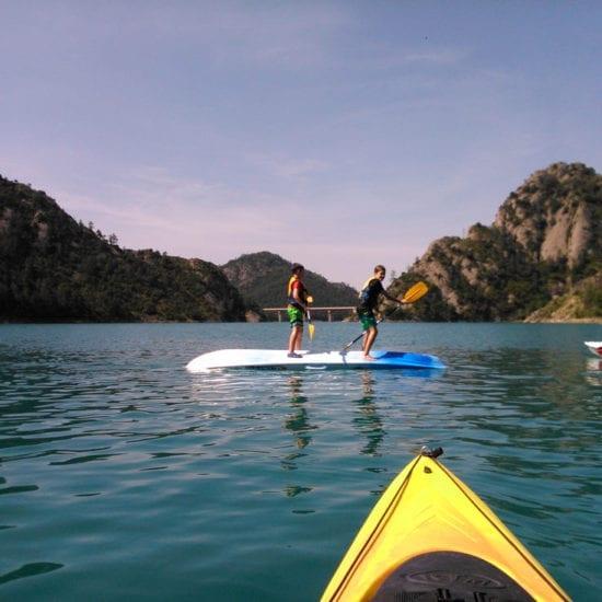Escolares en Kayak