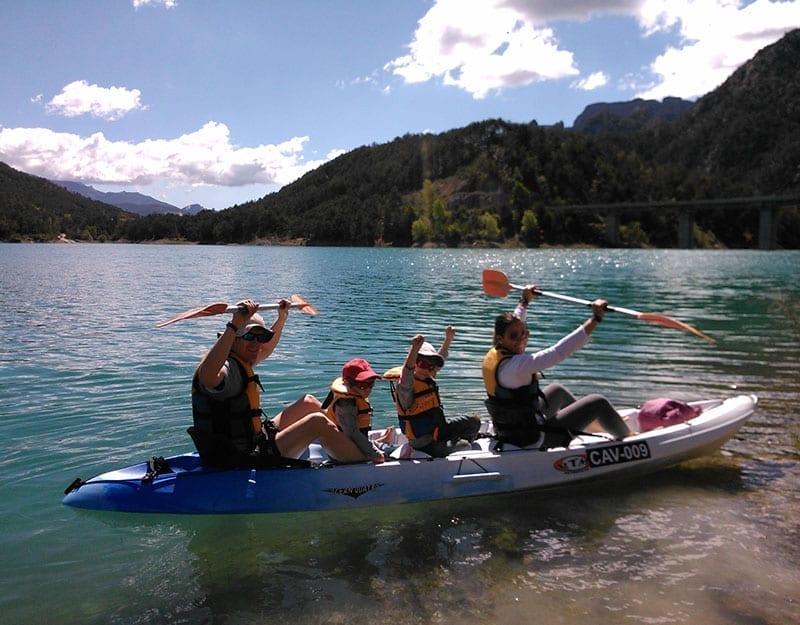 Alquiler de Kayak familiar