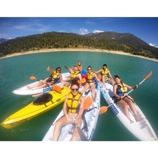 Alquileres de kayaks para grupos