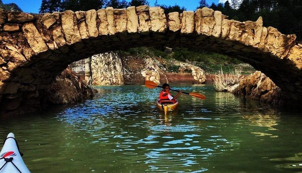 Ruta en Kayak puente romano