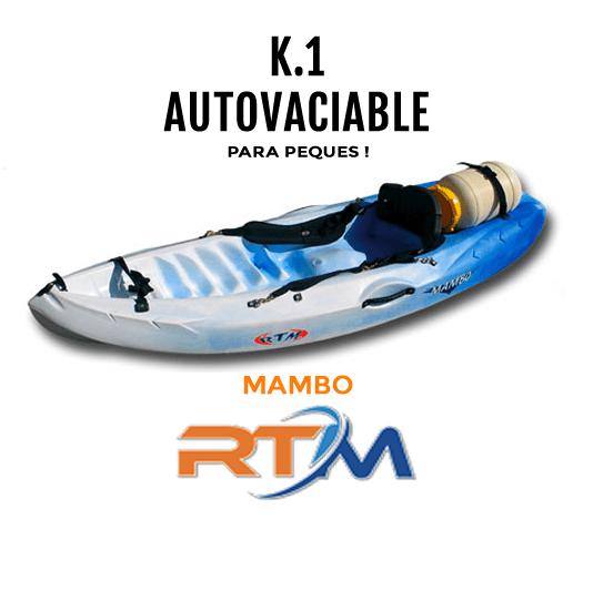Kayak autovaciable Mambo para peques