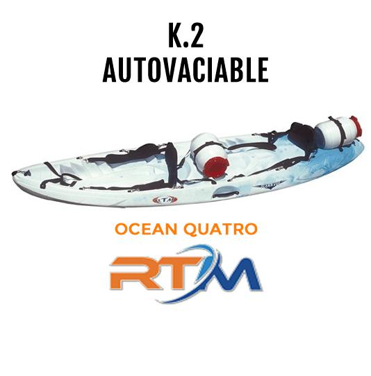 Kayak autovaciable Ocean Quatro