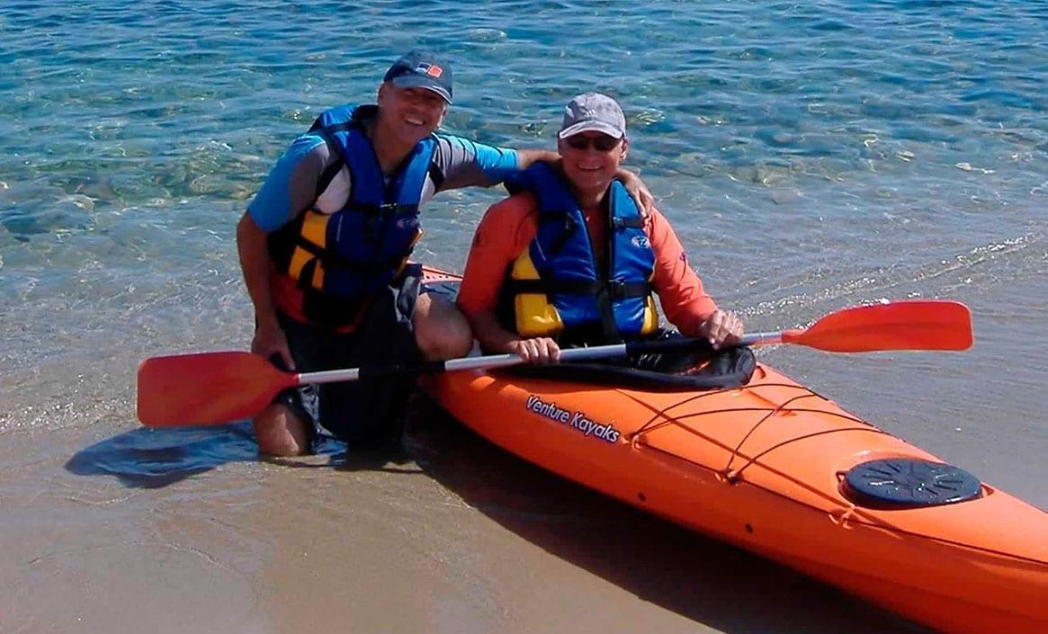 Alquiler de kayak en la Llosa del Cavall