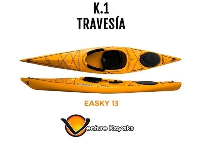 Kayak de travesía Easky 13