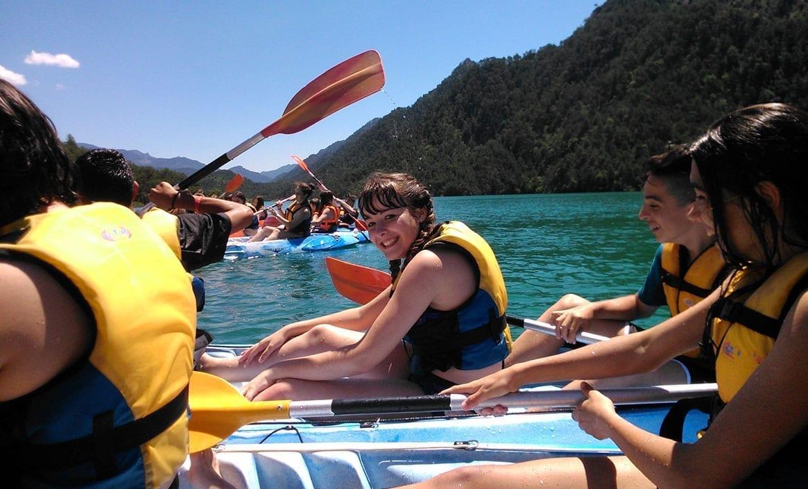 Alquiler de Kayaks para escolares