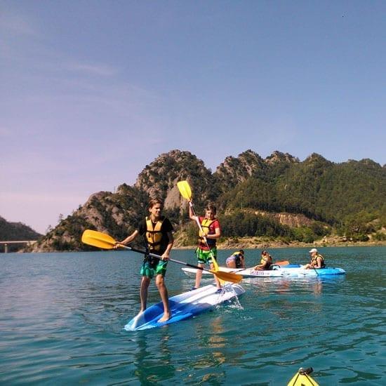 Escolares con Kayak K.1