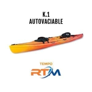 Kayak autovaciable Tempo