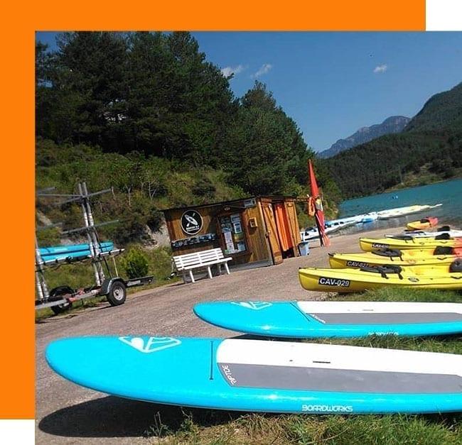 Alquiler de Kayaks y Paddle Surf