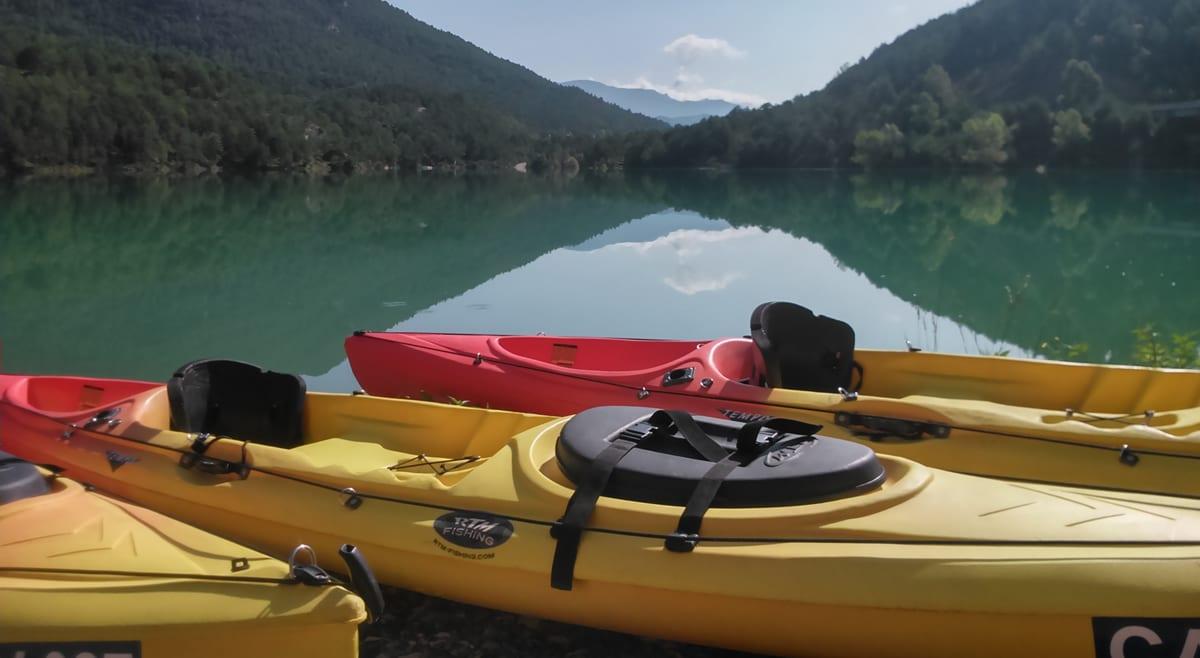 Material del kayak