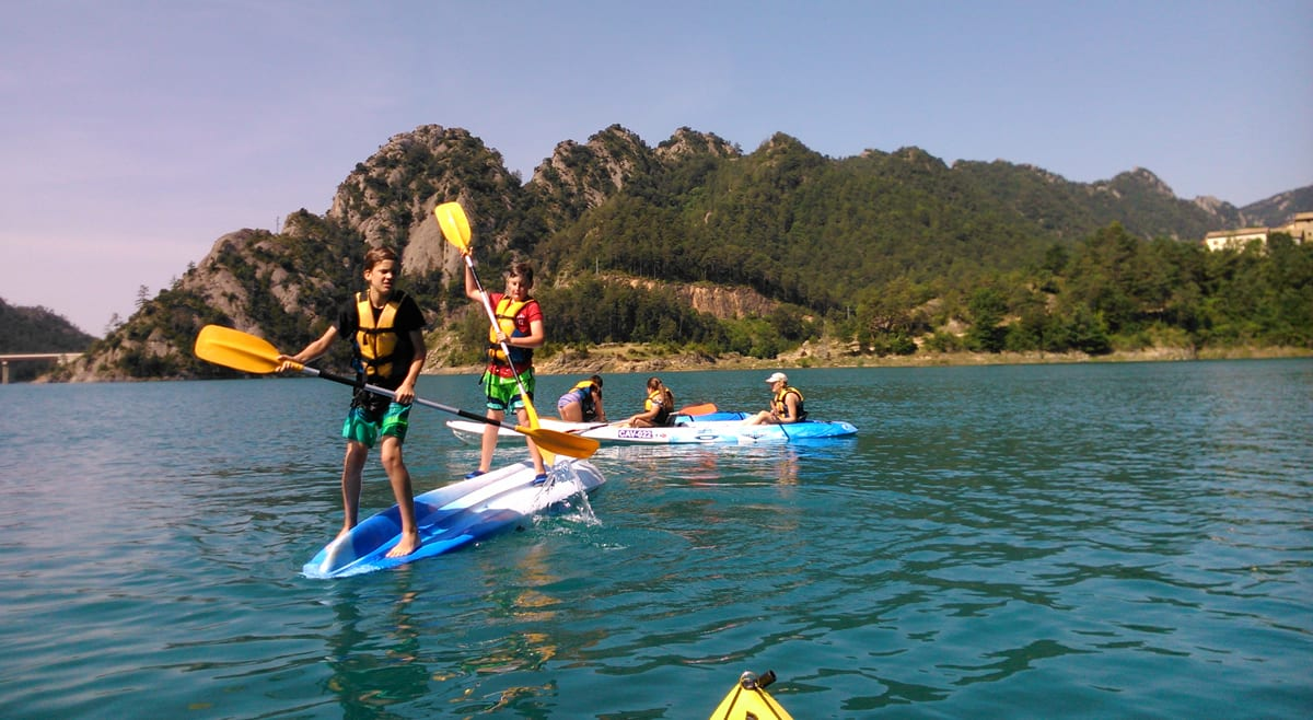 Volcar con un kayak